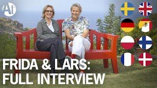 ABBA Frida Lyngstad interview: English/Spanish/German/Polish/+ subtitles. Lars Lerin 2016