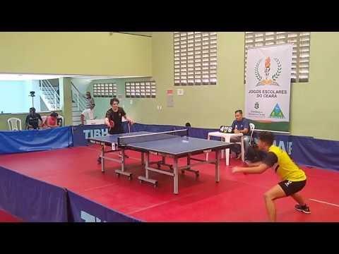 Jéser Oliveira (Iguatu) x Samuel Pardana (Fortaleza) | Jogos Escolares do Ceará 2019 - Final