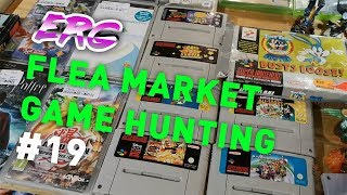 live RETRO VIDEO GAME HUNTING at the FLEAMARKET #19