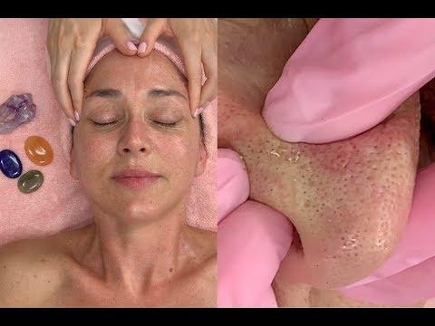 Large Pores & Dark Spots Glow Facial {ASMR vibes}| Jadeywadey180