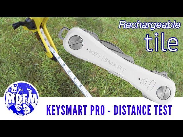 tile tracker keysmart pro distance