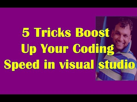 5 Tricks How to write code fast and maintainable  in visual studio