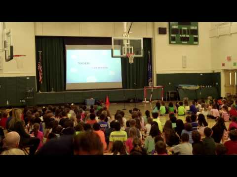 Glenville School Food Allergy and Teacher Appreciation Assembly 5-5-2015