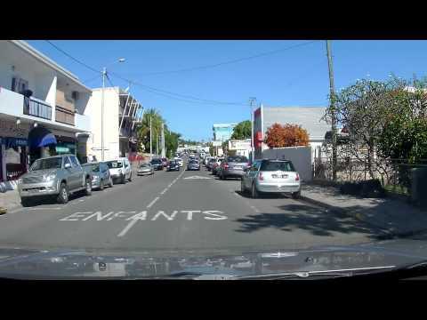 Nouméa - Le Faubourg Blanchot en voiture