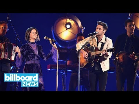 Maren Morris & Niall Horan Sing 'I Could Use a Love Song' & 'Seeing Blind' at CMAs | Billboard News