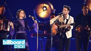 Maren Morris Niall Horan Sing 39 I Could Use A Love Song 39 39 Seeing Blind 39 At Cmas Billboard News