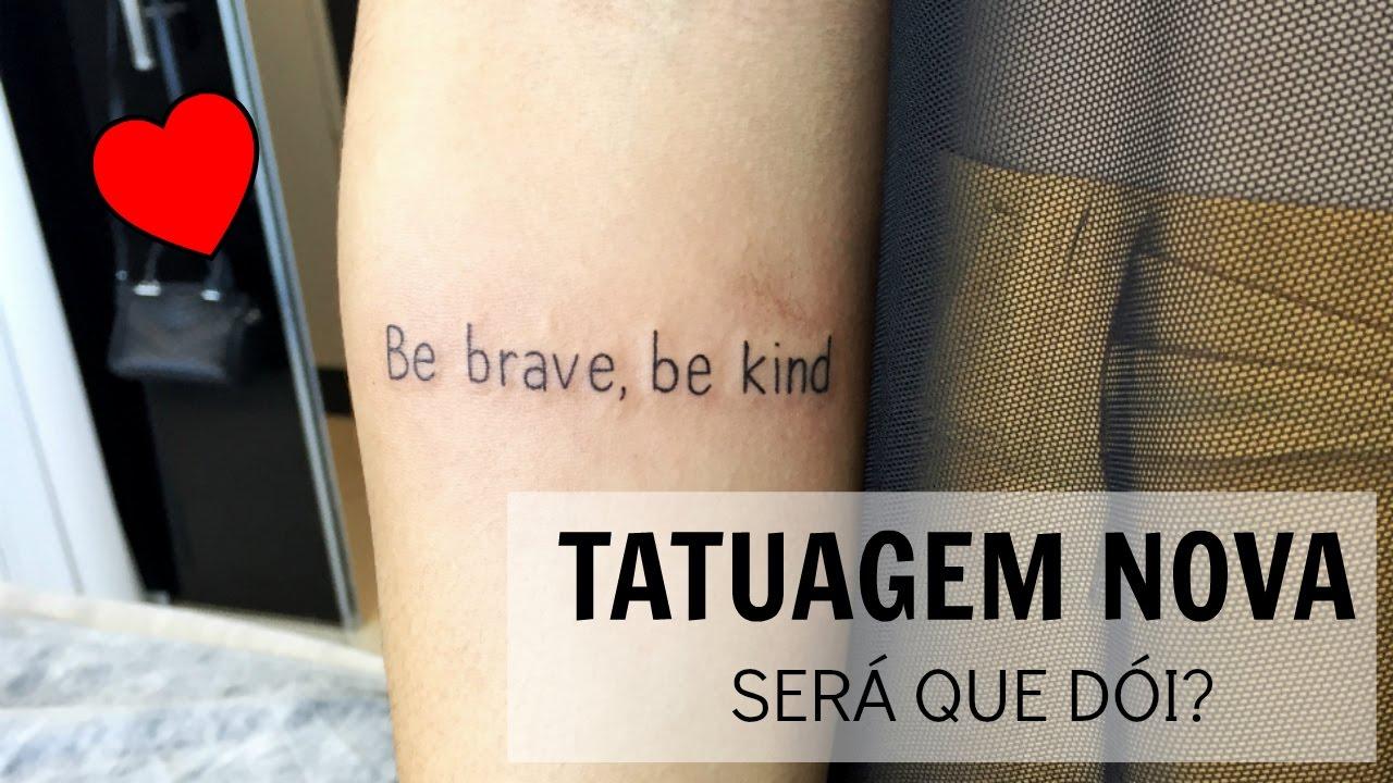 Tatuagem Nova Preço Dor E Porquê Escolhi Essa Frase