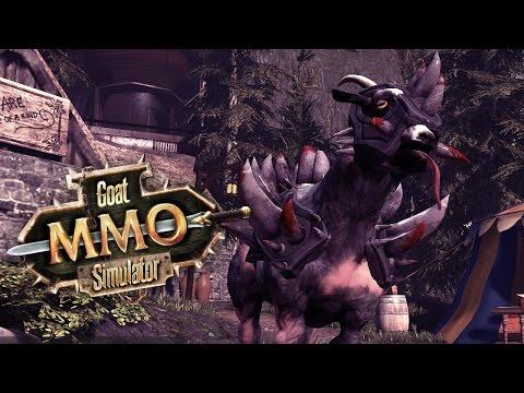 Magiske flyvende ged [Goat MMO Simulator]