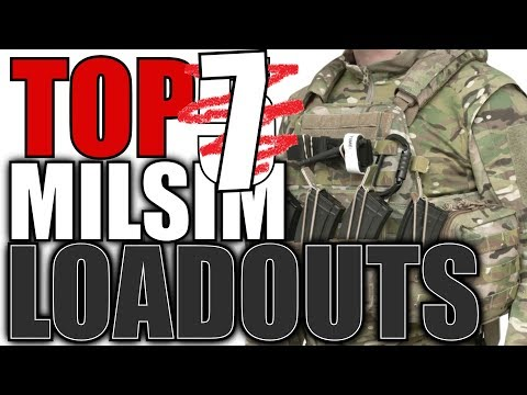 Top 7 MilSim Airsoft Loadouts - Airsoft Loadouts and Kits Countdown