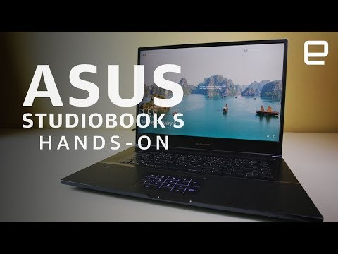 Asus StudioBook S Hands-On: A Laptop For Creators At CES 2019