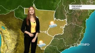 Previsão Centro-Oeste - Sábado típico de inverno