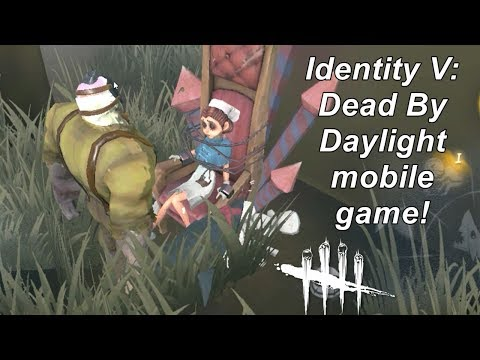 Identity V: The Dead By Daylight mobile game! First looks!