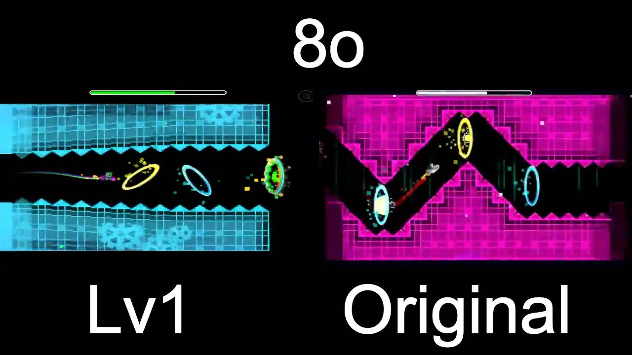 geometry dash vs lv1 8o by zobros and etzer