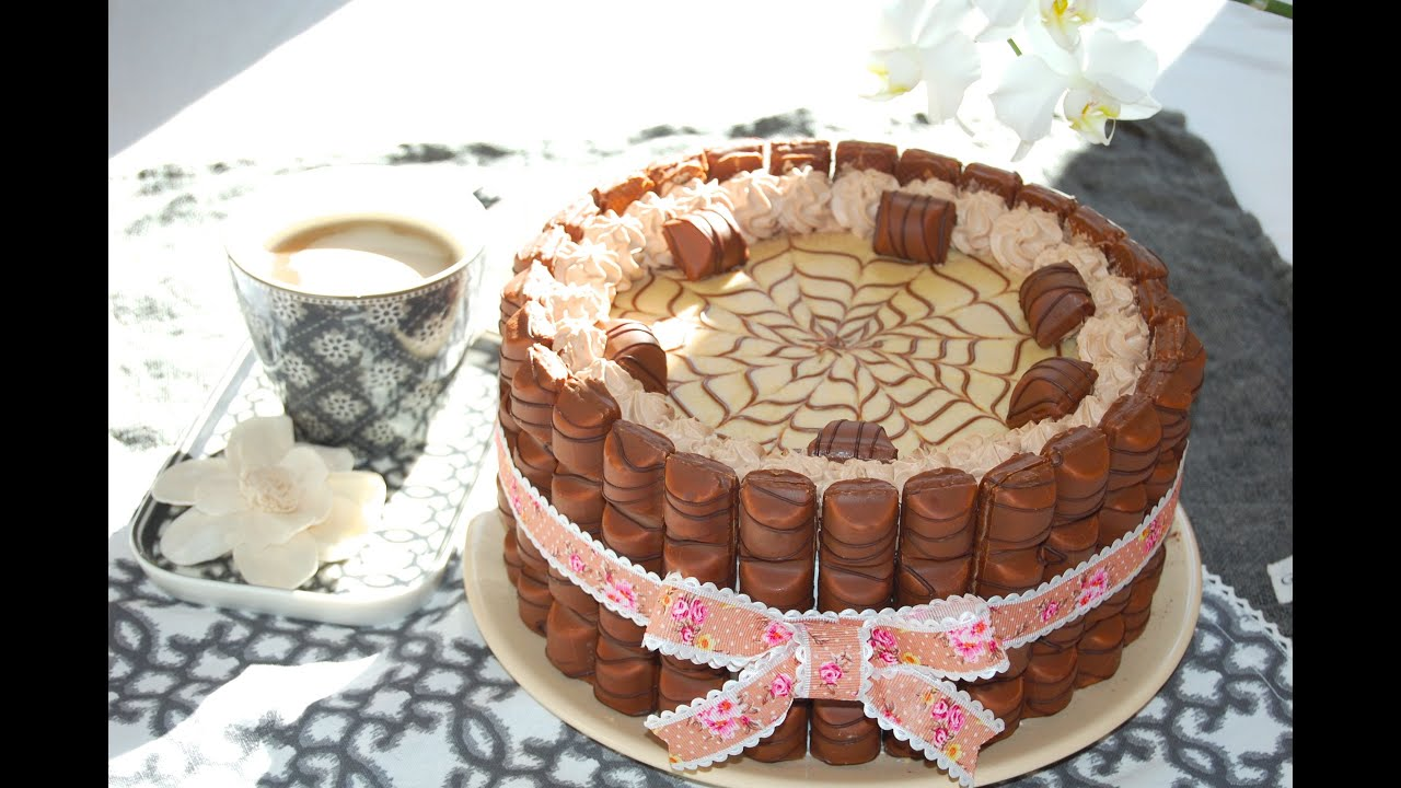Torta Kinder Bueno  Le ricette di DELIZIEePASTICCi  YouTube