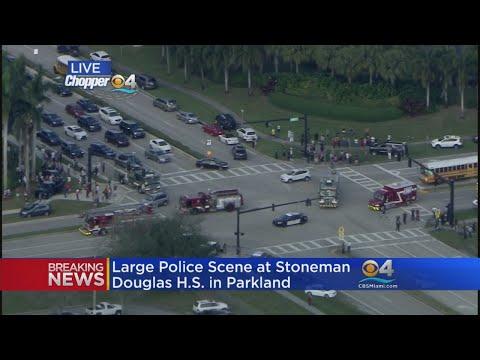 Digital Update: CBS4's Rick Folbaum Sends Texts To Student Locked In Closet at Marjory Stoneman Doug