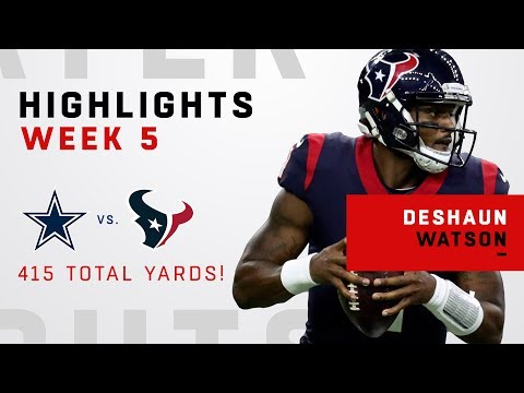 Deshaun Watson w/ 415 Total Yards in OT Victory!