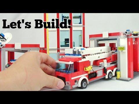 LEGO City: Fire Station 60110 - Let's Build!