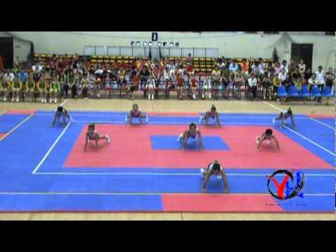 Aerobic   3  Bac Giang   Tu chon 8 nguoi   Cap 1 4 5   HKPD KVII 2012
