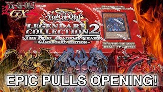 YU-GI-OH! SECRET RARE PULLS! Legendary Collection 2 Game Board Edition: Duel Academy Years Opening!