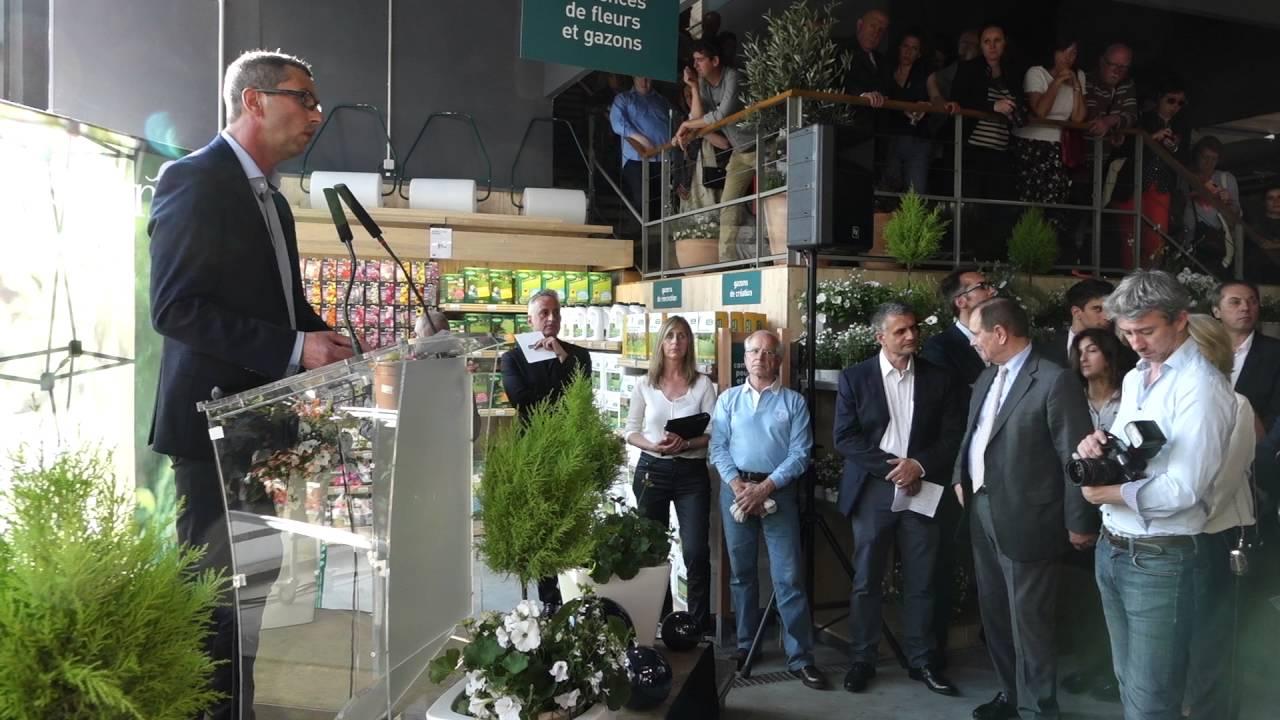 Luc blanchet pr sident de botanic l 39 inauguration du - Leclerc rueil malmaison ...