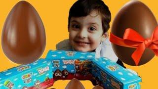 Ozmo Yumurta Kafalar& Sürpriz Yumurta& Eğlenceli &Oyuncak Açma Videosu