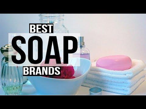 Top brands of soap