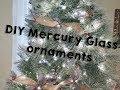 DIY Mercury Glass ornaments | Vlogmas day 2 | Jessica Sunshine