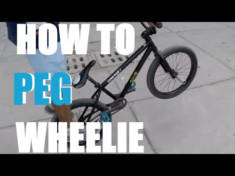 Learn Awesome Cycle Stunts| How To Peg Wheelie | Bike Flatland Tricks | Ridebmxindia