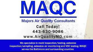 Majors Air Quality Consultants | Baltimore MD Mold Inspection and Removal