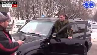 Так герои Новороссии возвращаются домой в Москву ЛНР ДНР сепаратисты Донецк Луганск
