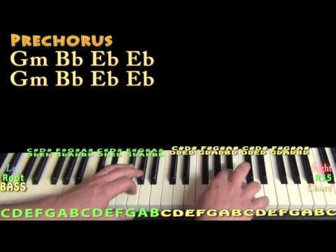 Needed Me (Rihanna) Piano Lesson Chord Chart