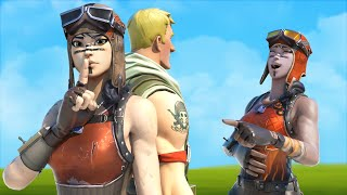 this NEW RENEGADE RAIDER made fun of my NO SKIN, until he realized my OG RENEGADE RAIDER...
