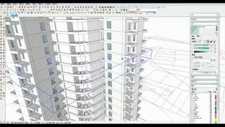 Speedup Sketchup:build A New Apartment Realtime Modeling Workflow 01(extruded Form Cad)
