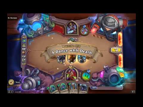 Solution Puzzle Lab Board Clear: A Dance With Death - Dr. Morrigan (5/5), Hearthstone Boomsday