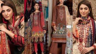 Pakistani Fancy Dress in America/Eid Collection Party Wear Dress 2021/Morja By Gul jee Dresses 2021