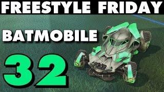 Rocket League | Freestyle Friday 32 | Batmobile (Best Goals & Fails)