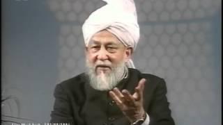Liqa Ma'al Arab 1 Aug 1996 Question/Answer English/Arabic Islam Ahmadiyya