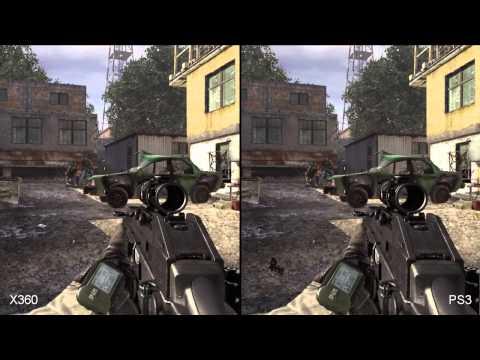 Call Of Duty: Modern Warfare 2 Xbox 360/PS3 Comparison
