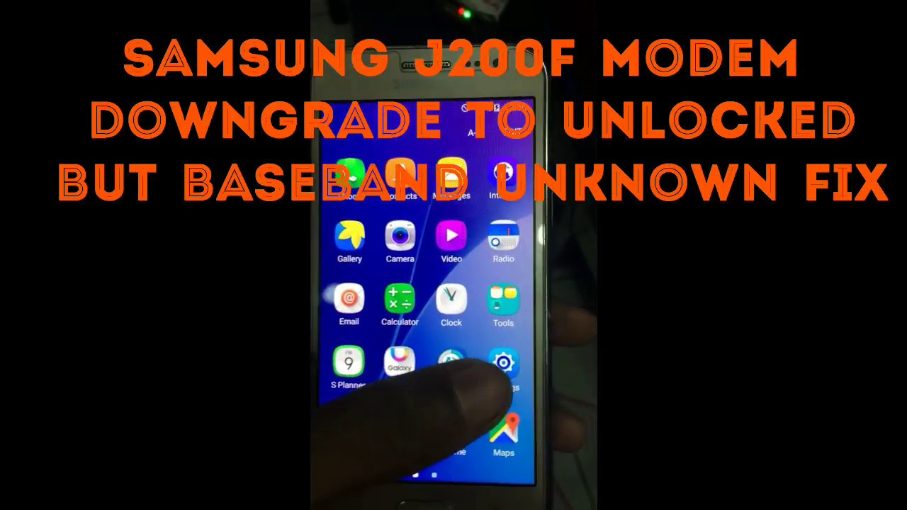 Samsung J2 Baseband Unknown Solution J200F after Unlock Unknown Baseband  Tested Fixed