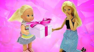 Барби Новинка. Какой подарок Барби выбрала Штеффи? Мультики для девочек Barbie