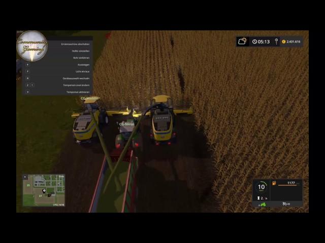 Let's Play Landwirtschafts Simulator 2017   Mais XXL   Folge #025