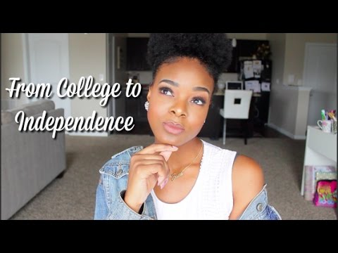 Transition From College to Independence   Expenses + Tips