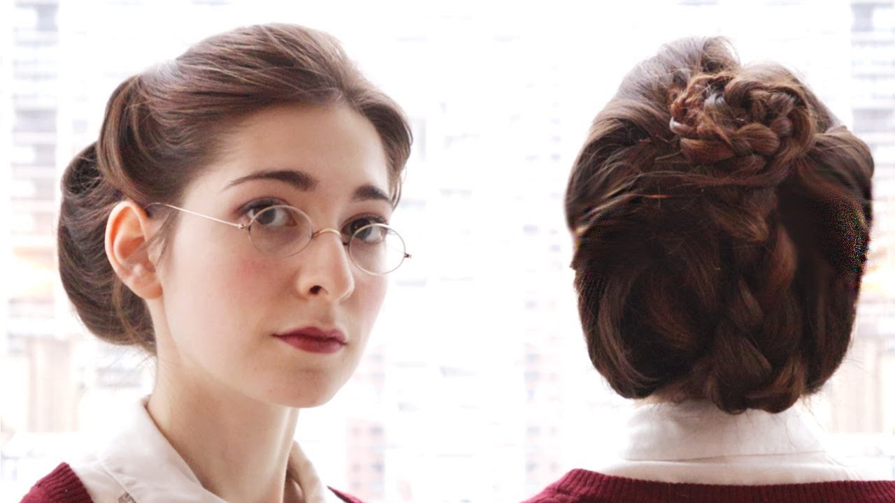 everyday victorian-style updo