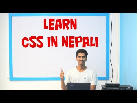 CSS Complete Tutorial In Nepali