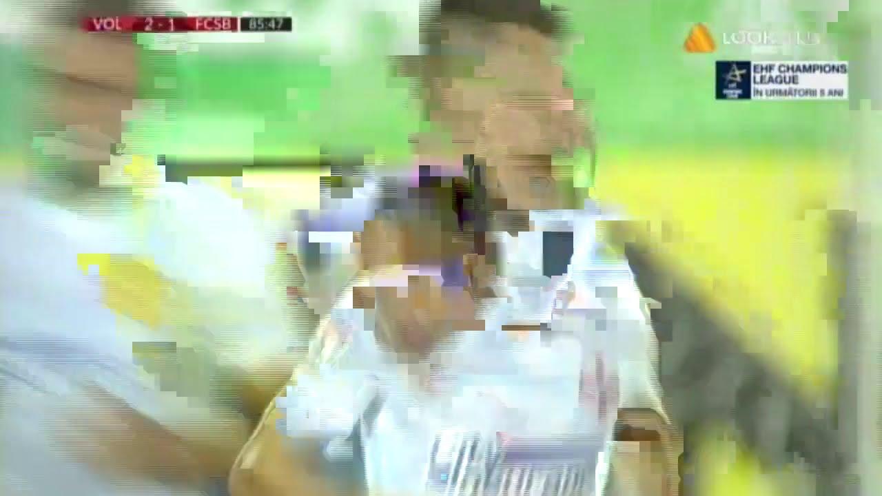 Goool Denis Man! FCSB reduce din diferenta in meciul cu FC Voluntari