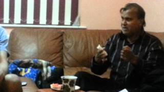Akhter Hussain with Abbas Lalji noha practice 2012-2013