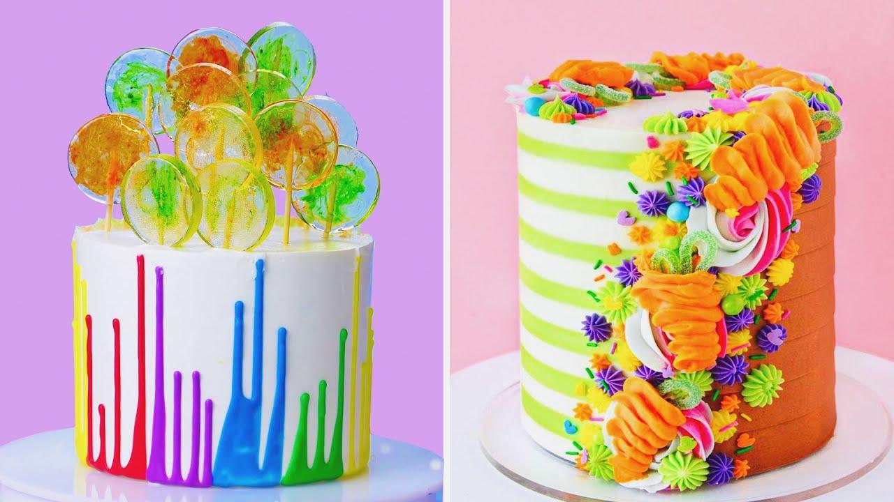 Amazing Flower Cake Decorating Ideas | So Yummy Colorful Cake Decorating Recipes | Extreme Cake