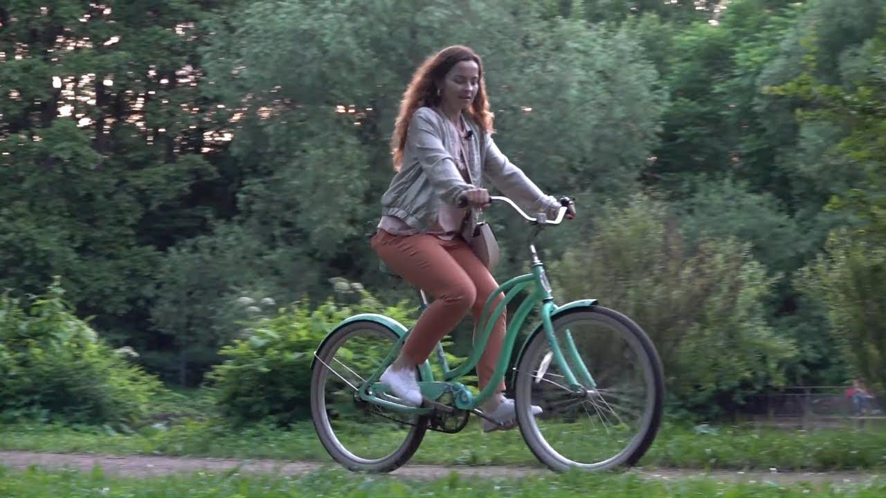 Катаюсь по парку на велосипеде 🚲 - Reality Show