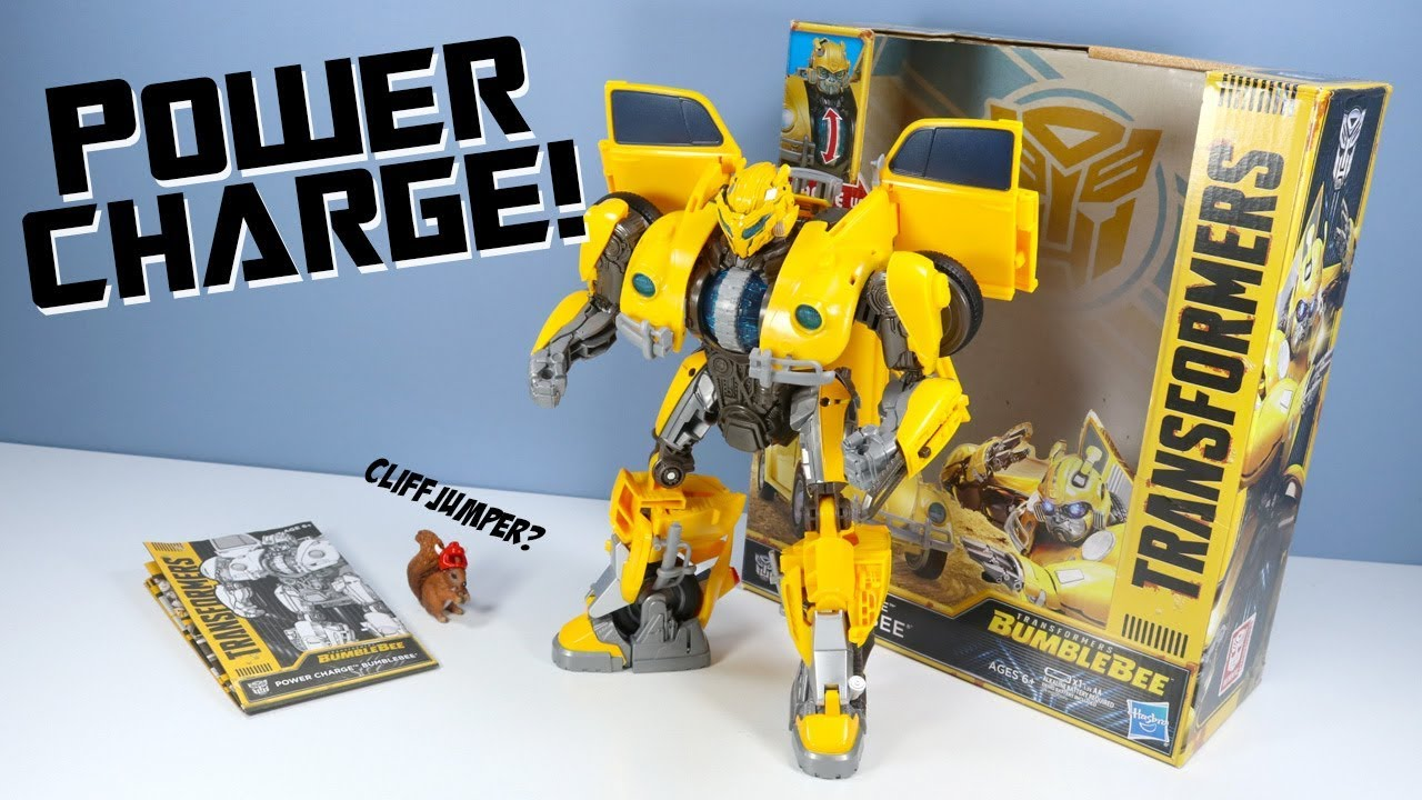 Action- & Spielfiguren Hasbro E0982EU4 Transformers Movie 6 Power Charge Feature Hero Bumblebee