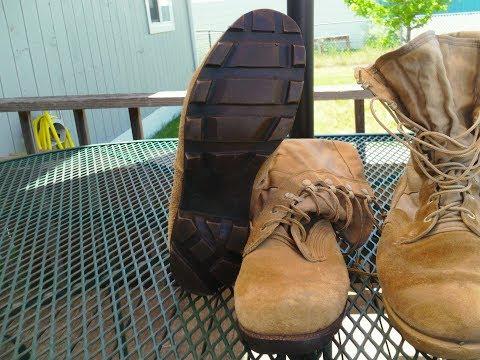 1st and 2nd pattern USGI desert jungle boots